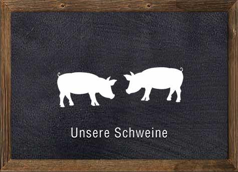 Unsere Schweine, Artgerechte Haltung & natürliche Ernährung